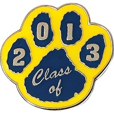 700-0-P5911-Class-of-2013-Award-Pin-Blue-Yellow-Paw-000